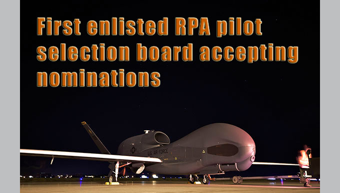 graphic with photo of Global Hawk aircraft