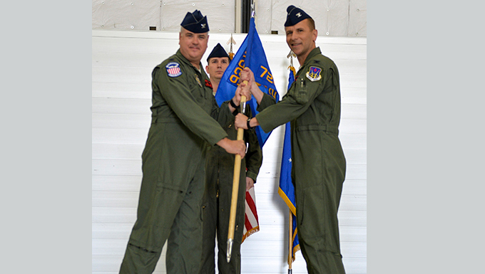 726th Operations Group Change of Command ceremony