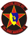 26th Space Aggressor Squadron patch