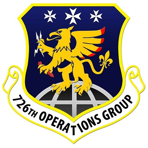 726th Operations Group patch